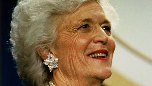Barbara Bush headshot