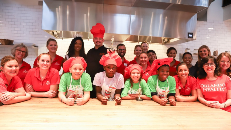 Orlando Health Heart & Vascular Institute and the American Heart Association Transform Kids into All-Star Cooks