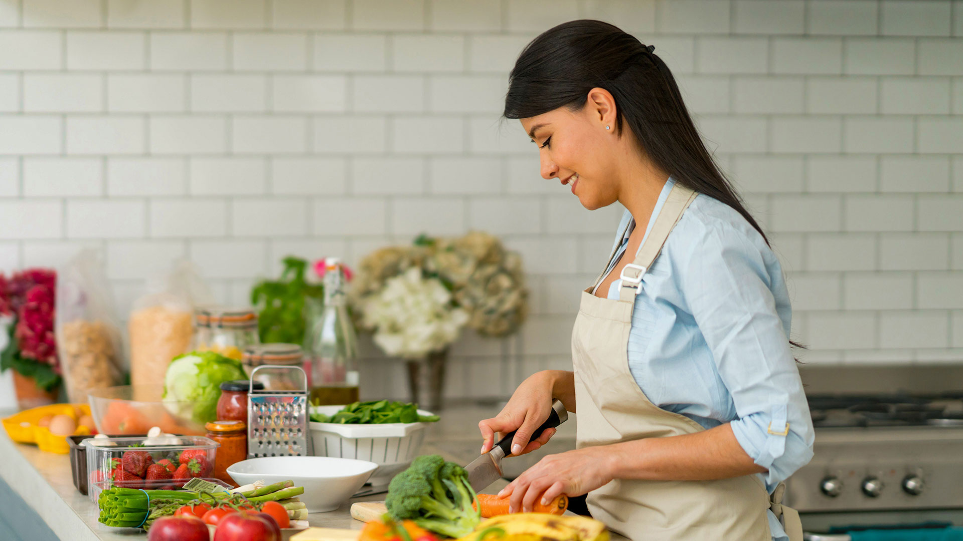 On the Grocery List: A Healthy Diet for Preventing Breast Cancer