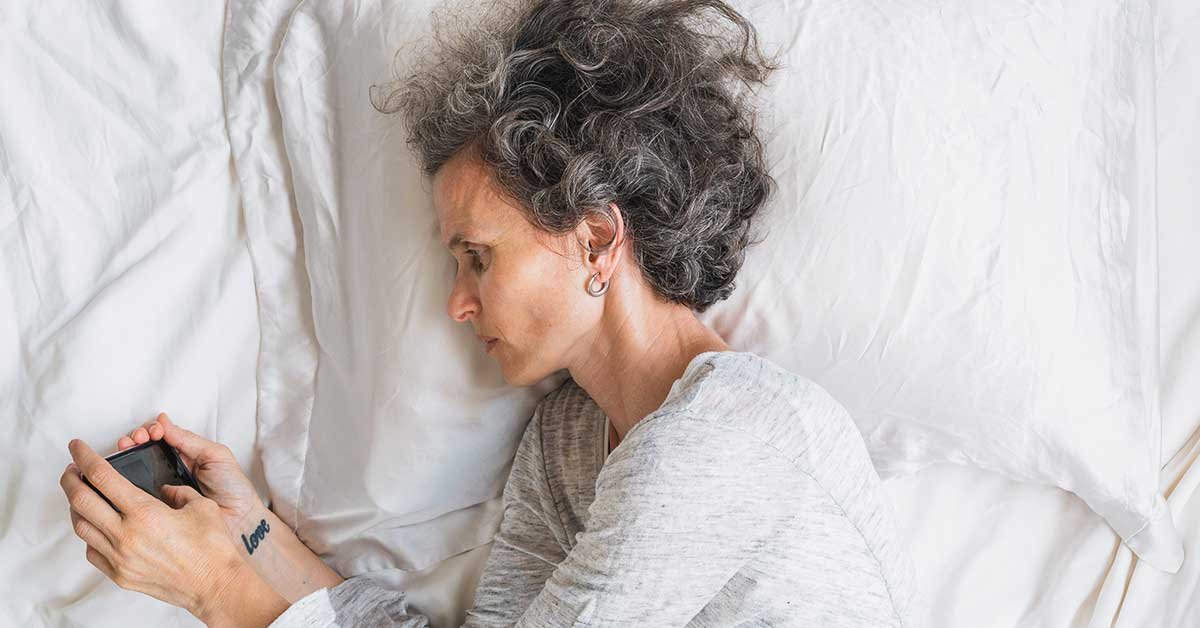 Can't Sleep? Menopause May Be the Culprit.
