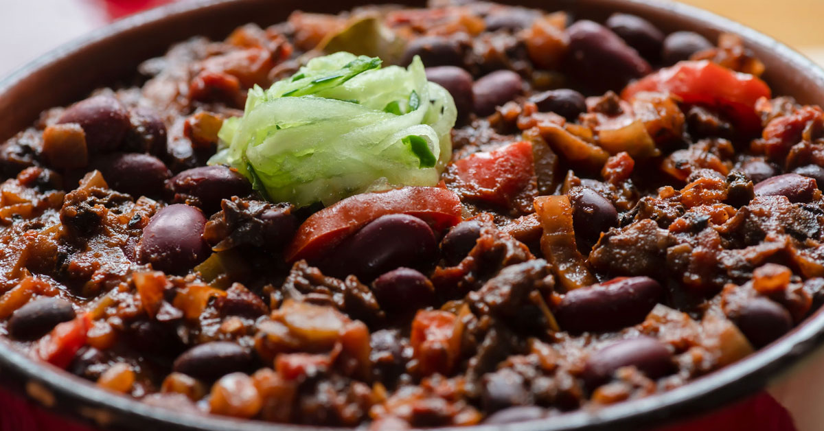 Vegetarian Spicy Chili