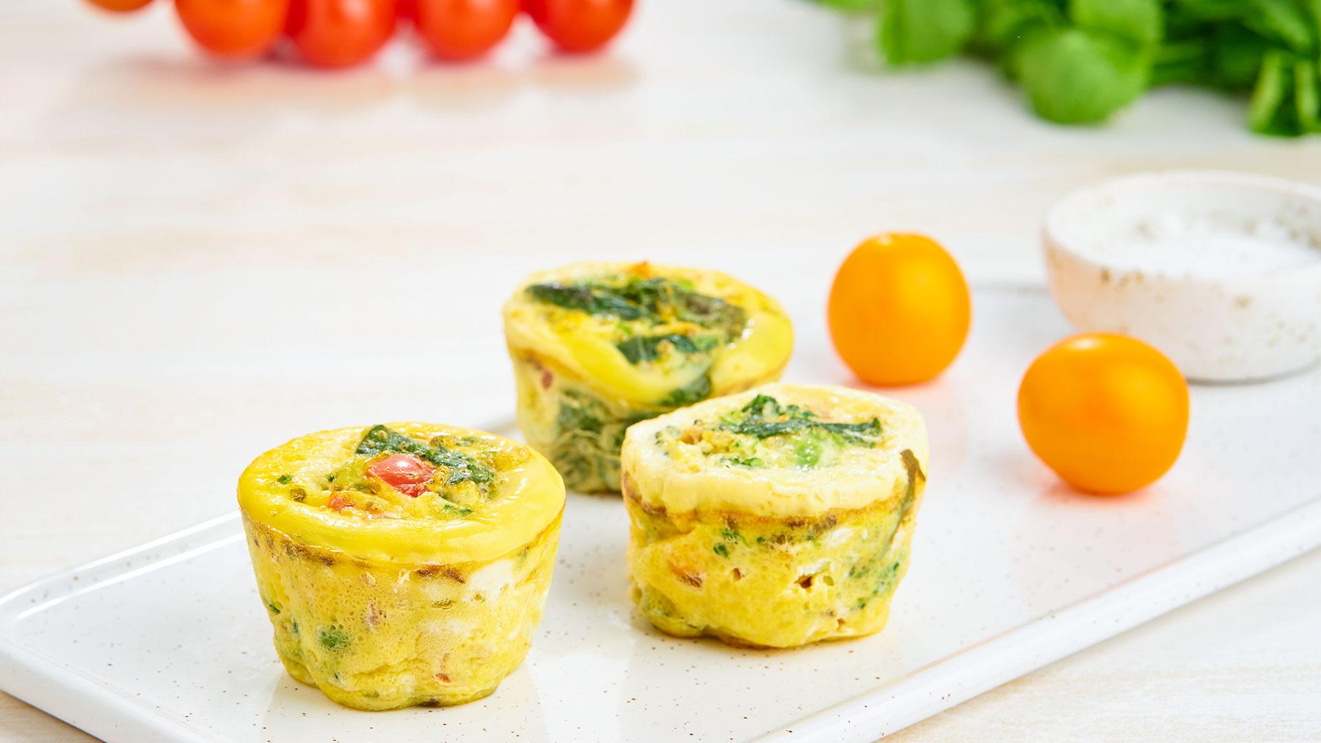 Egg & Veggie Muffin Cups