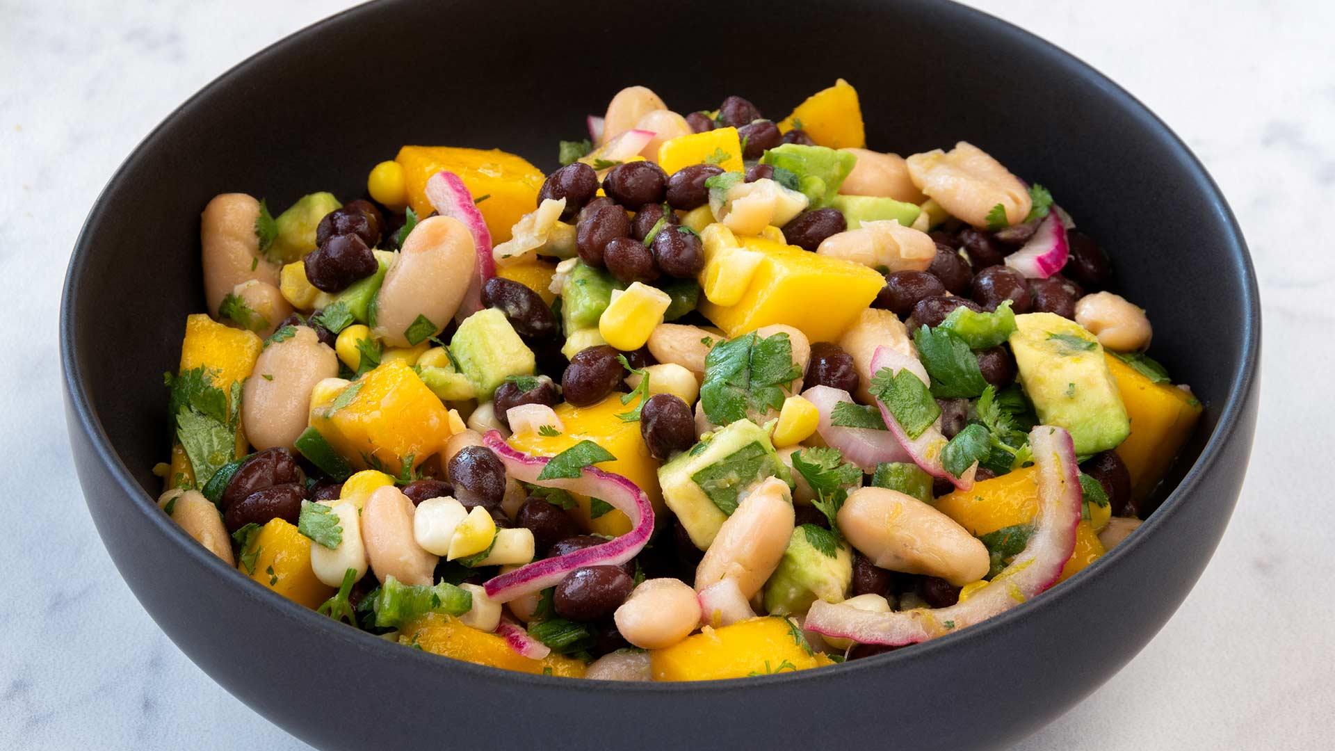 Chunky Mango Black Bean Salsa