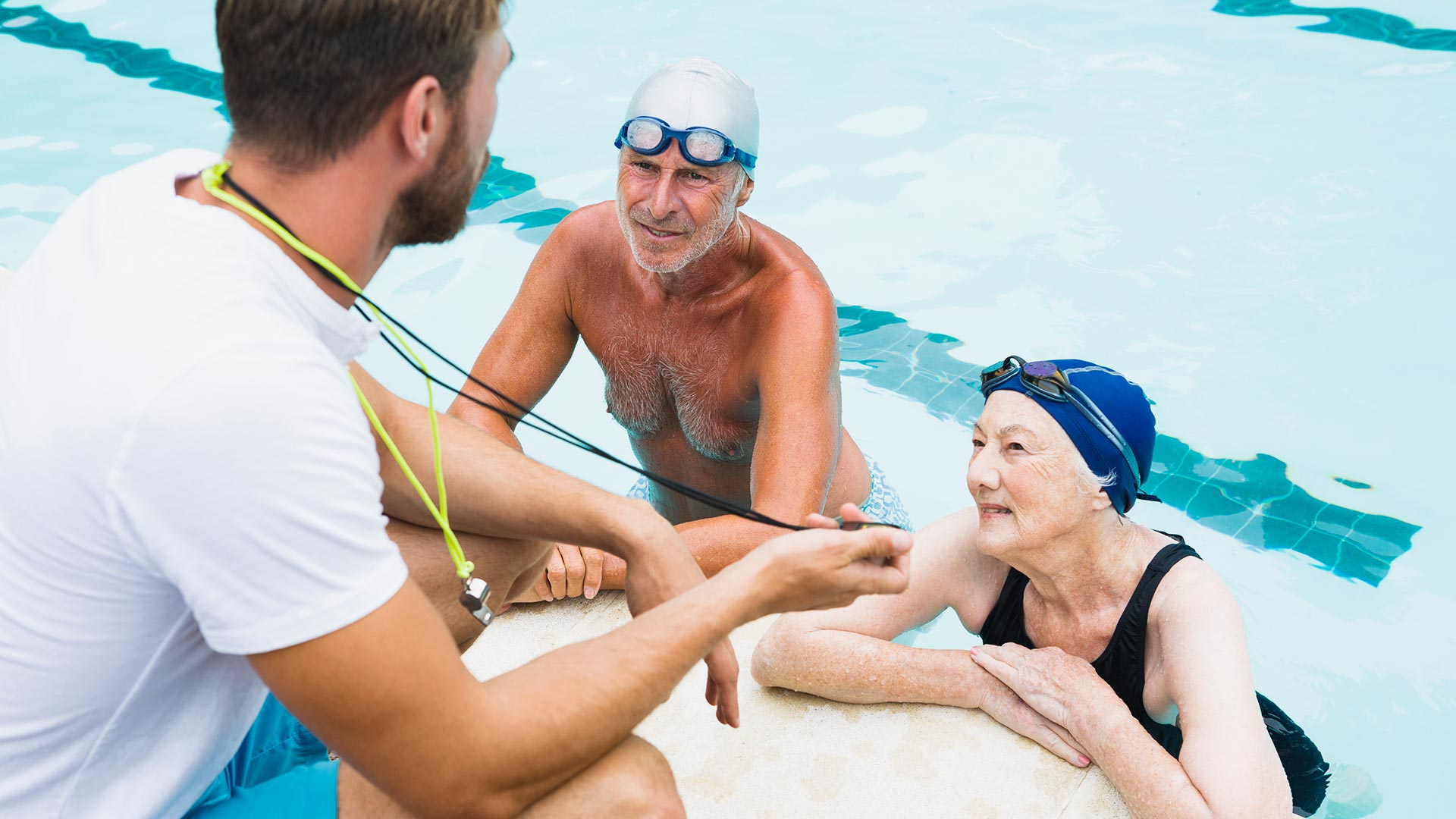 Swimming: Jump in with These Exercise Tips