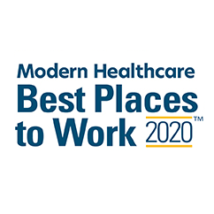 Modern Healthcare - Best Places to Work 2020