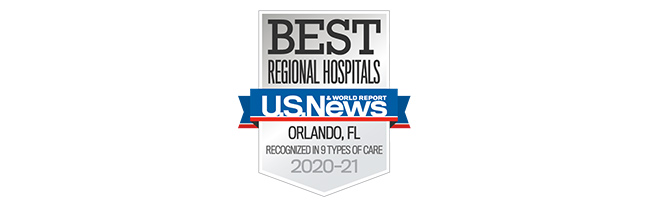 US News Best Regional Hospital Award 2020-2021