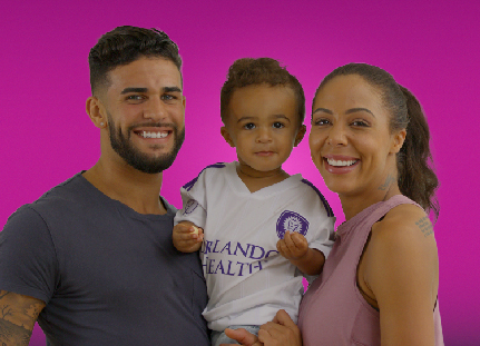 Dom Dwyer, Sydney Leroux and Cassius Dwyer