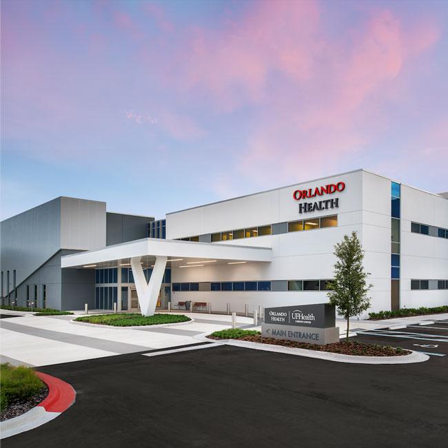 Orlando Health UF Health Cancer Center - Health Central Hospital