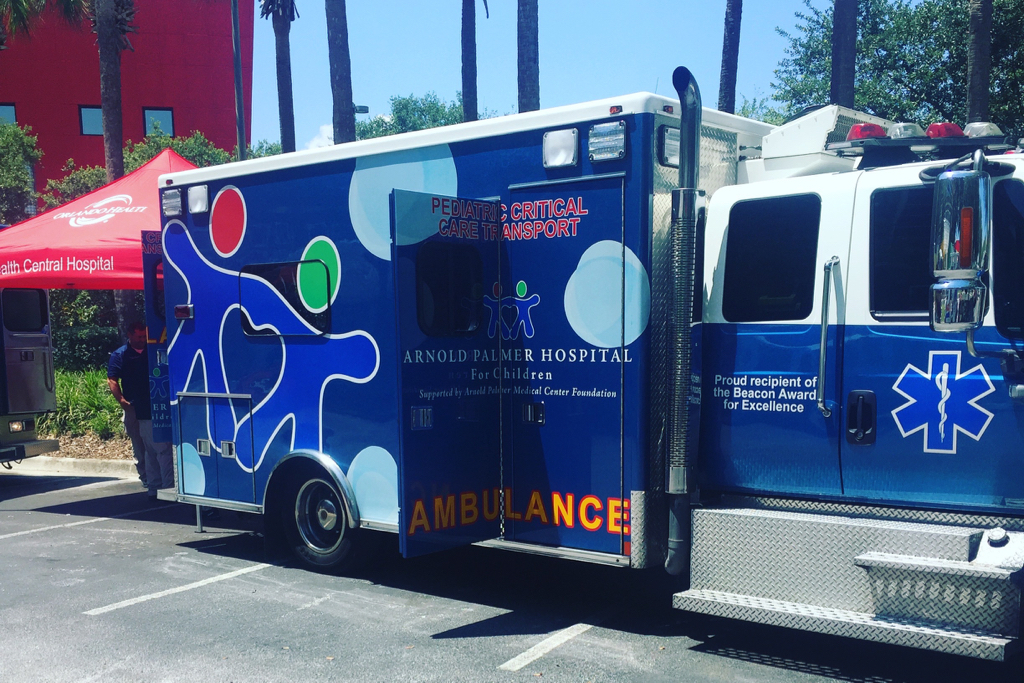 APH emergency truck