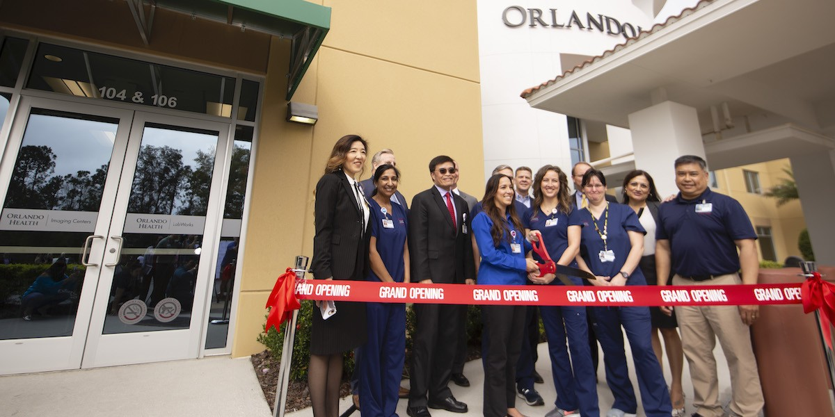 Orlando Health Imaging Centers gives Summerport residents a new, closer option