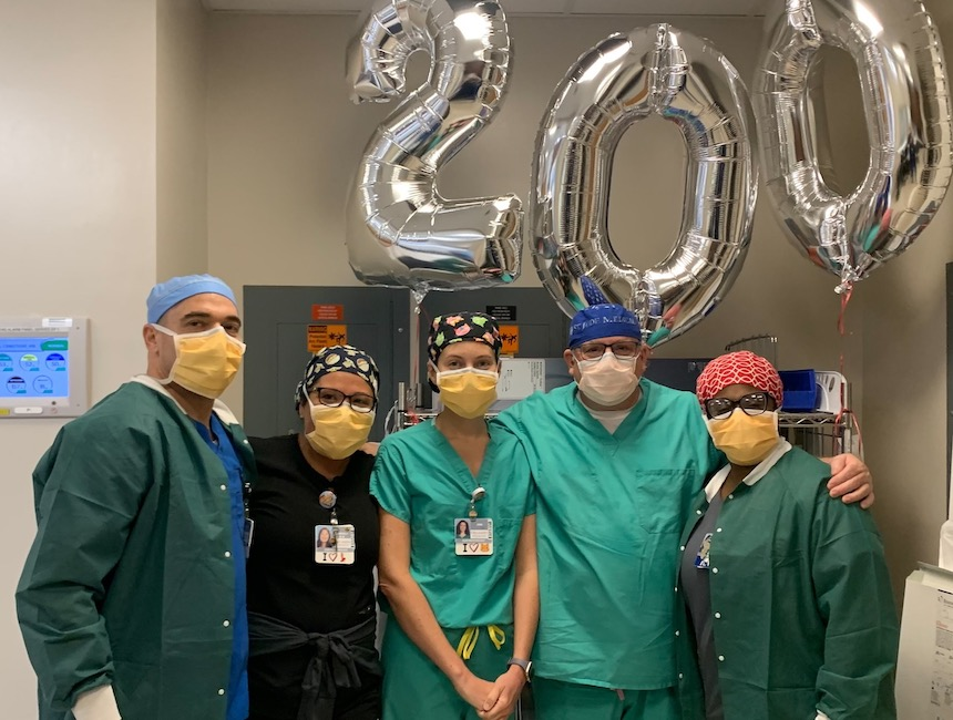 Orlando Health Orlando Regional Medical Center reaches 200th stroke-prevention device implant for heart patients