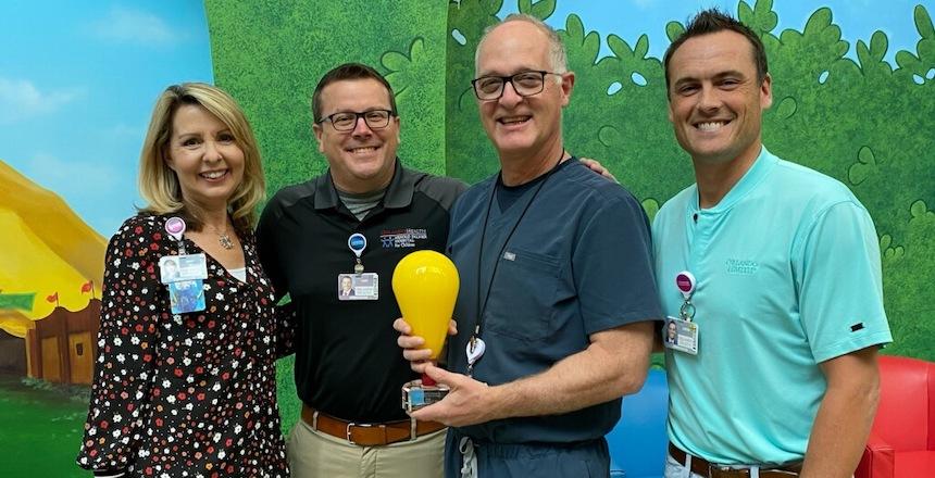 Orlando Health Pediatric Trauma Director Receives National Impact Award