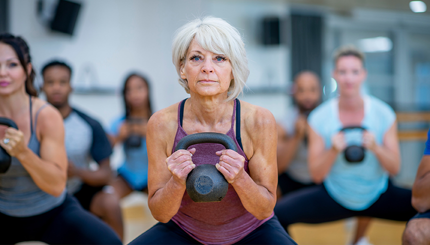 Over 50? Here's How To Build Muscle