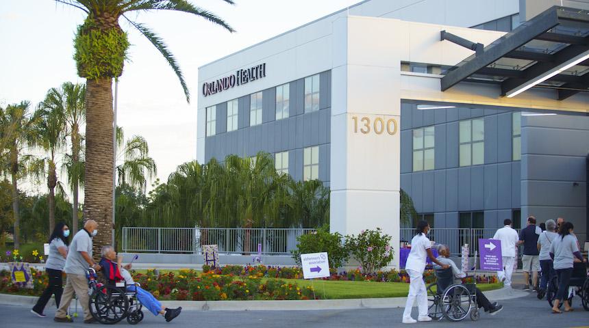Orlando Health Hosts Alzheimer's Walk For Residents & Family