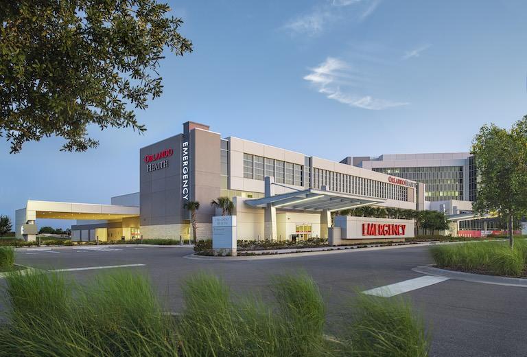 Take a Virtual Tour of Orlando Health Emergency Room and Medical Pavilion - Horizon West