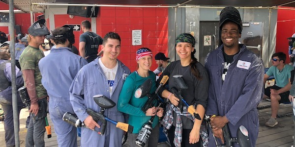 23 - Paintball Class Pic