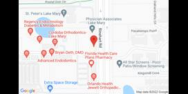 Lake Mary Florida Map.Christopher Louis Caggiano Do Locations