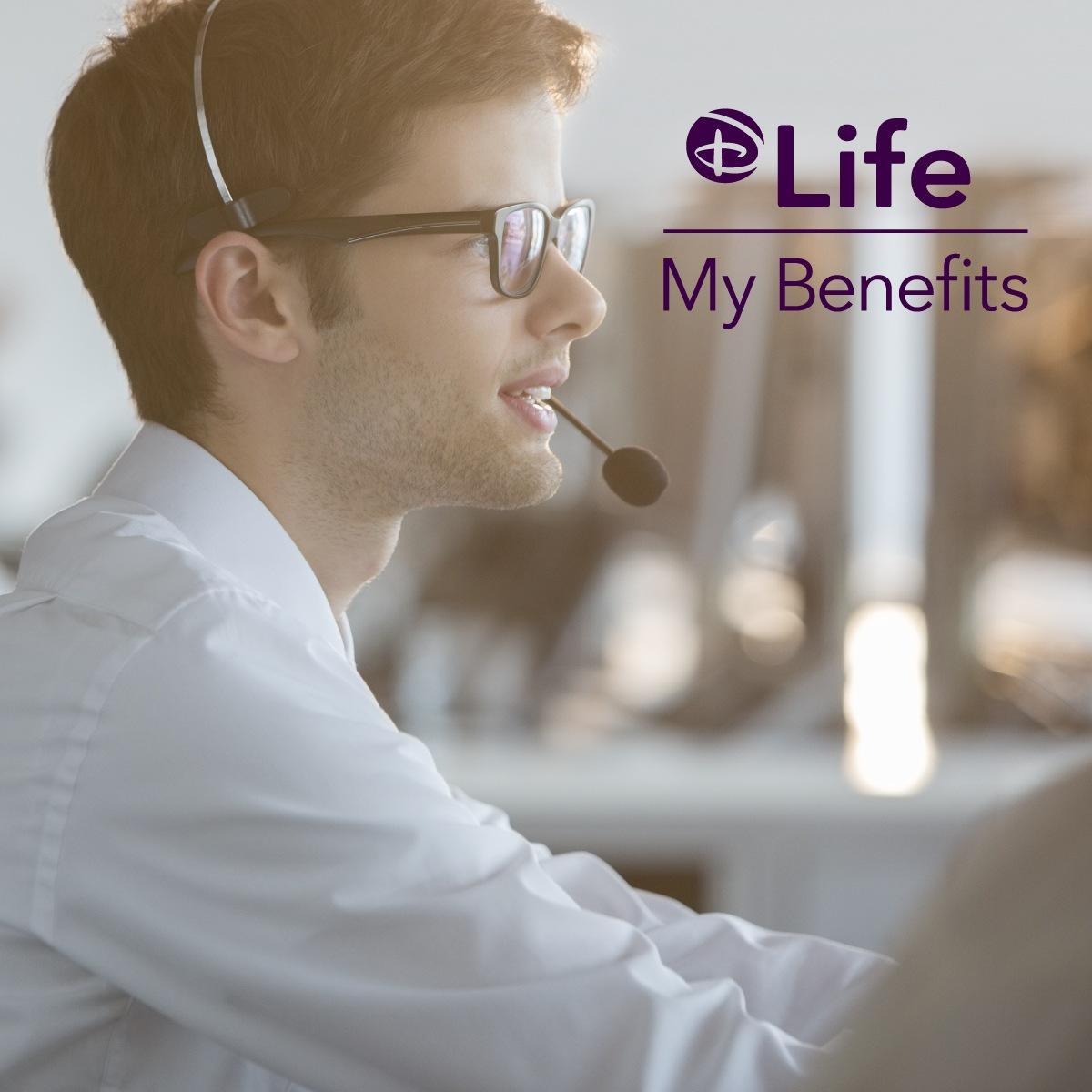 D-Life - My Benefits link