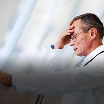 Doctor with Anxiety