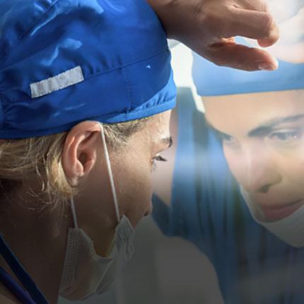 Surgeon in Scrubs