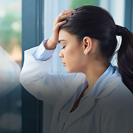 Physician experiencing Depression