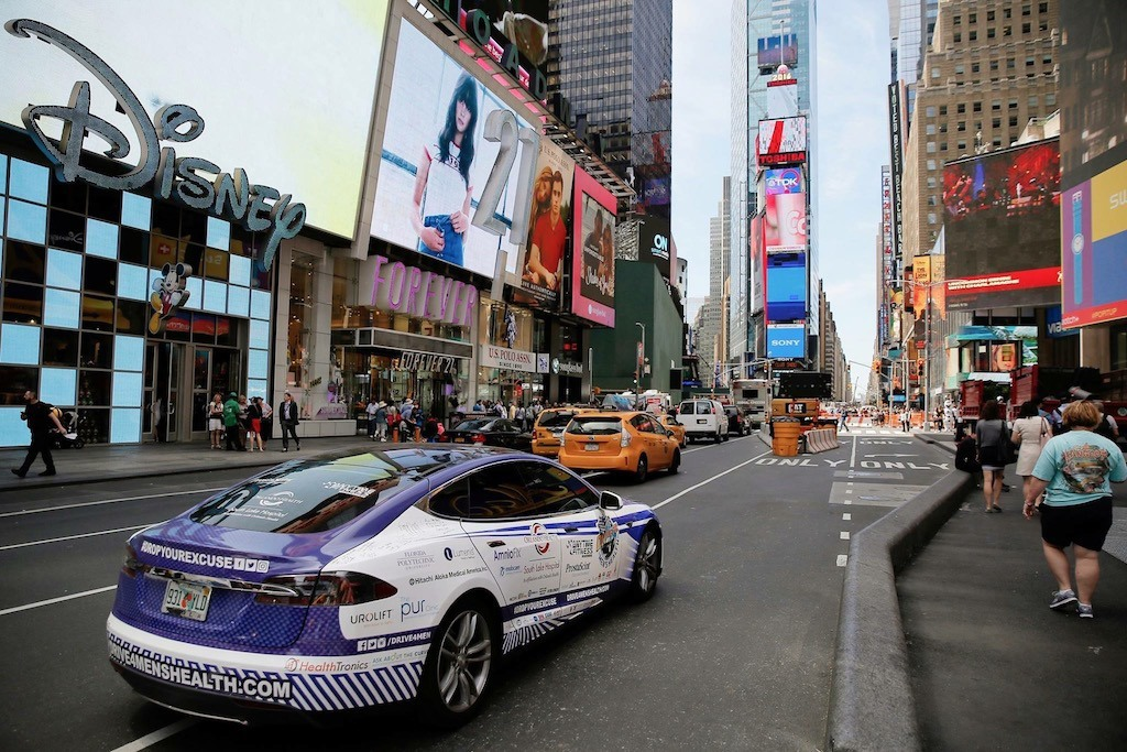 New York City Drive arrives in Times Square 2