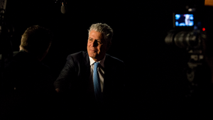 Anthony Bourdain, chef, writer and television personality.