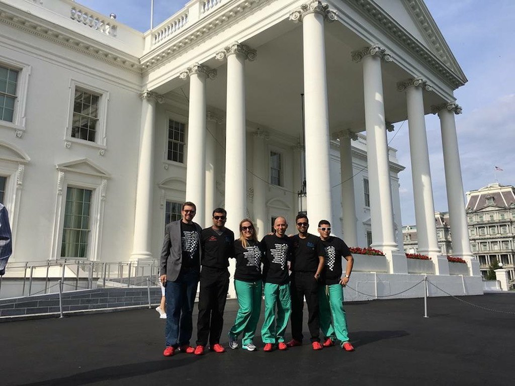 Washington DC Drive visits the White House